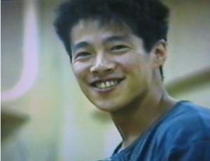 1987年頃の堤真一さん