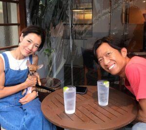 並川孝太さん奥様の由美子さん