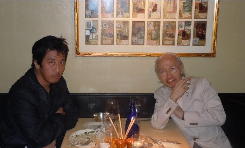 岡村靖幸さんと川添象郎さん