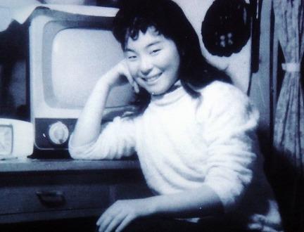 若い頃の青江三奈さん