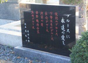 青江三奈 石碑
