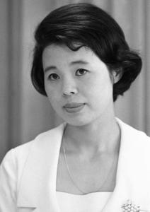 市原悦子さん。1967年5月