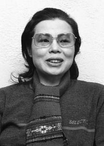 市原悦子さん。1982年2月