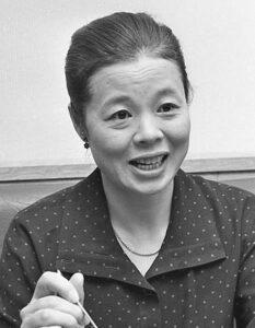 市原悦子さん。1983年