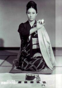 江波杏子さん「女賭博師」1967年