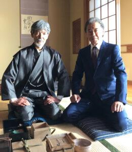 西岡徳馬さんと柴田恭兵さん