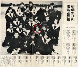 戸田恵子 中学生日記