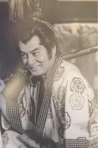 織田信長役の高橋英樹さん
