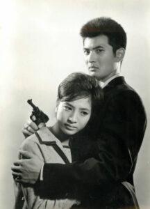 小林旭さんと松原智恵子さん
