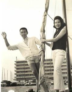 1965年『あの娘と僕』桑野みゆき橋幸夫